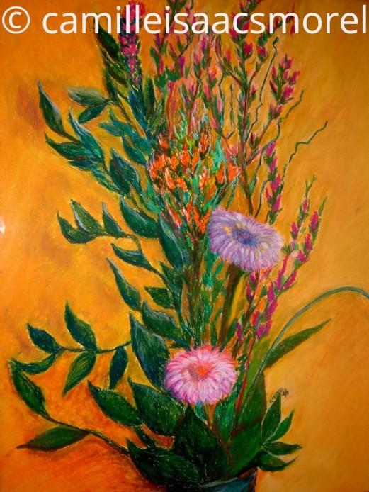 Flowers - Oil Pastel